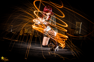 Light my fire by KICKAcosplay