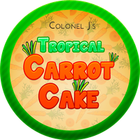 Tropical Carrot Cake with Ginger by Echilon