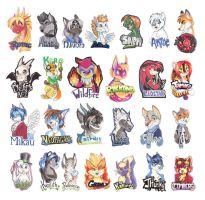 Badges Galore Examples by Tigsie