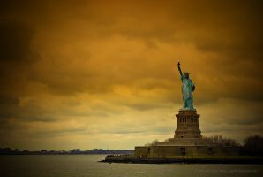 Liberty On Fire by jpgmn