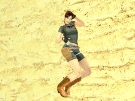 Claire at The Beach 2 by AdamArt675
