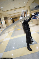 Sephiroth Battle Pose by DartFeld