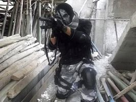 Call of Duty Ghosts Cosplay Art by SPARTANalexandra