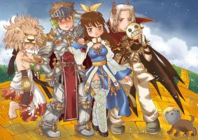 Ragnarok Online: Wizard of Oz by Sakuragichan