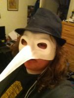 Plague doctor mask. by Jolts-of-Blue