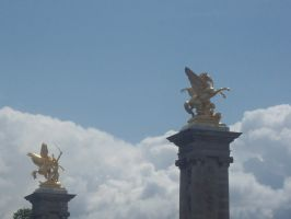 Statues On the Clouds by sifie14