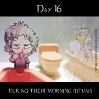 30 day OTP Challenge Feat. Winchesters: Day 16 by KamiDiox