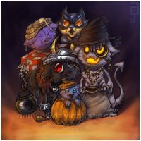 Trick or Bee by Anuwolf