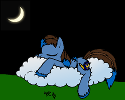 Good Night, Everypony c: by WolfKat777