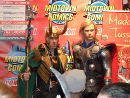 Loki and Thor by nx20