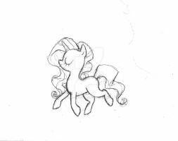 Rarity Sketch-up by what-Nancy-drew