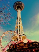 space needle by THE-rashleyclarkster