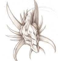 Random Dragon Head Again. by Fox-Dev