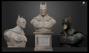 The Dark Knight Rises - 3D Scuplt by CreativeAbzy