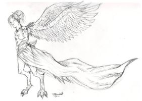 Angel Character concept 1 by Doe-jo