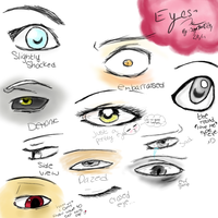 11 eye references. by sugarbearkitty