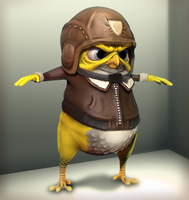 Captain Canary Bird by napka