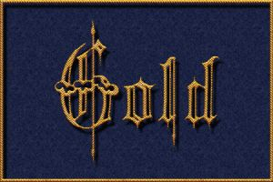 Gothic chainwaved text effect by Loreleike