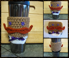 Fred the Coffee Cup Cozy by NekoMarik