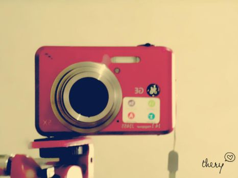 Vintage Digital Camera by teribi-chan