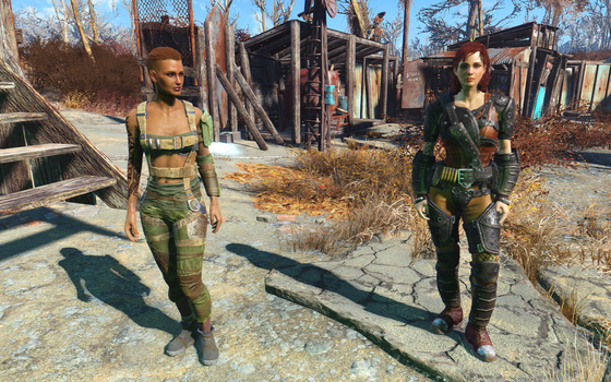 Fallout 4: Jack and Shepard in the Wasteland? by Seracen