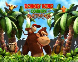 Donkey Kong Country Returns by AleNintendo
