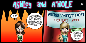 Ashley and A*Hole #22 by Ashleykat