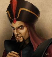 Royal Vizier Jafar by MightyGodOfThunder