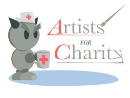 Artists for charity logo AFC by Ryuichi1979