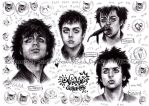 Billie Joe ~ Nyan Portraits by IwannaPissInYourBed