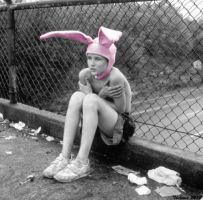 Poor Rabbit Kid by Thelema001