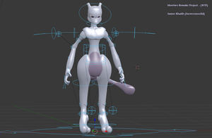 Mewtwo remake project (WIP) by Snowconesolid