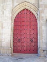 Church doors 2 by lasrinastock