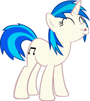 Vector Vinyl Scratch kiss me by Barrfind