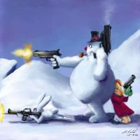 The Fight for the North Pole by digistyle