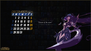 League of Legends Calender 2014 - December by CreateMyIntro