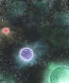 digital : planets 2012 by darshan2good