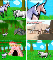 Charlie the unicorn storyboard by Candy-Mountain-Cave