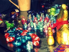 Bunny eggs by Keome