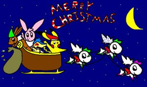 MERRY CHRISTMAS by Pinkytheeevee