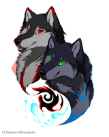 +Devil Wolves+ Couple18 by Silver-spirit666