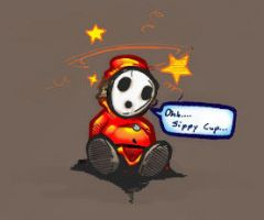 Ohh.... Sippy Cup by deathmonkey