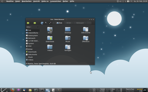moon-light desktop by BigRZA