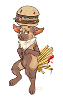 Burger and Fries! by Frindle