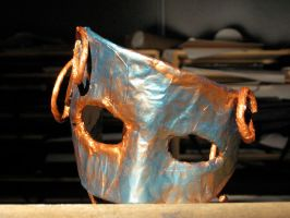 Mask: front view by solitarymuse