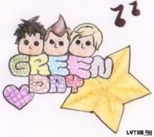 lil' Green Day by lytre98