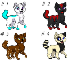 Adoptables  by Terohime