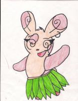 lexi the spinda by pandabear0223