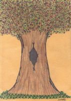 A Tree For Jen Maddron by QueenieNirvana