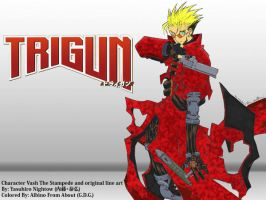 Trigun Wallpaper by Albino-From-Abouut